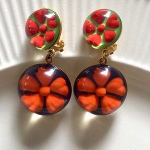 Rare VTG Kenzo Earrings